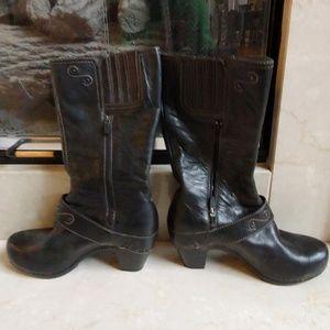 Dansko Leather Boots Size 40